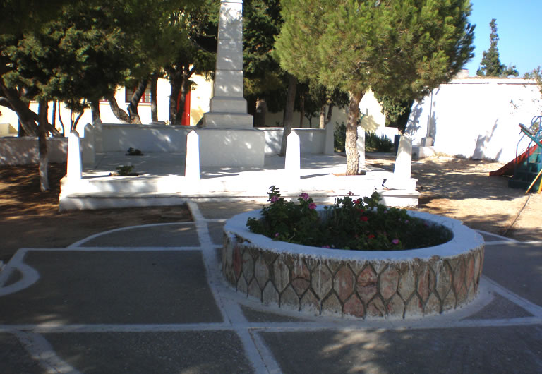 Renovation of outdoor space, N. Perantinos Sculpture Museum, Paros island